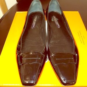 Ralph Lauren Collection Patent Leather Flats